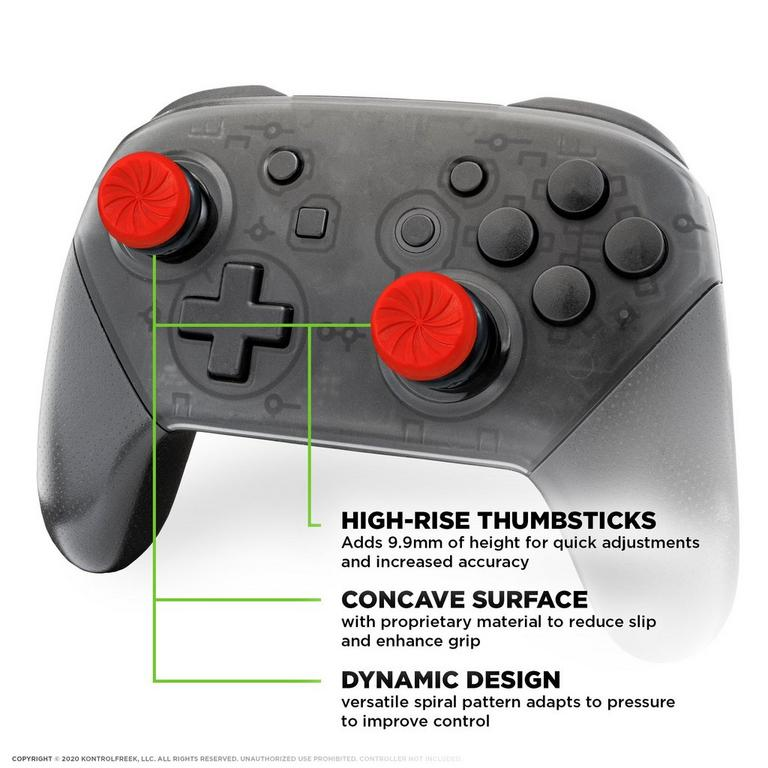 FPS Freek Inferno Performance Thumbsticks for Nintendo Switch