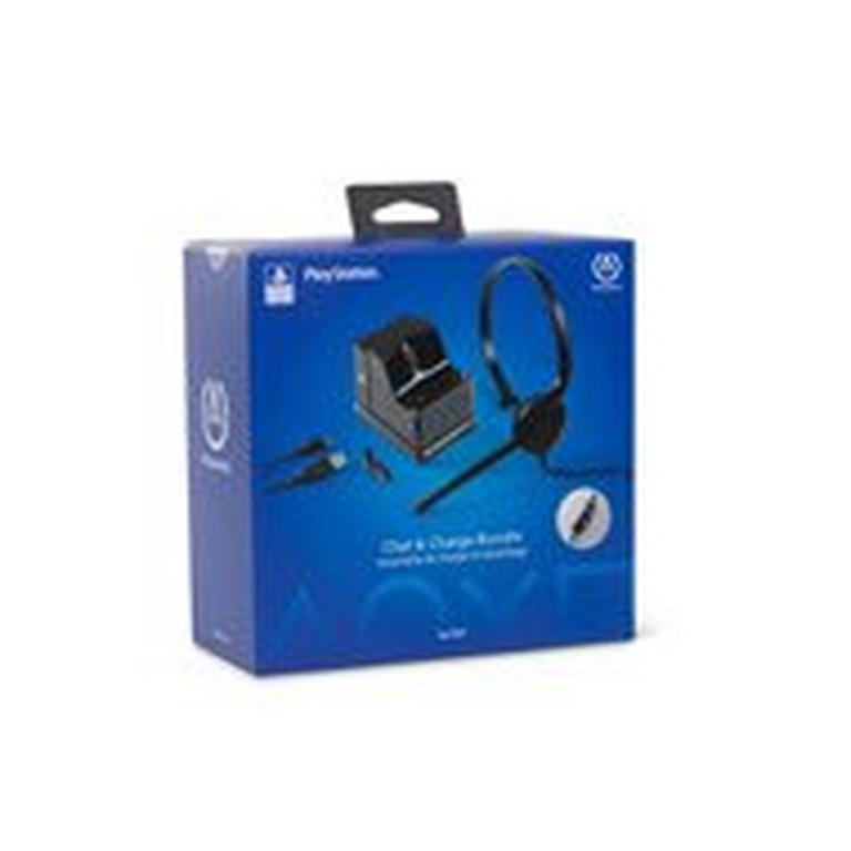 Chat and Charge Kit Bundle for Playstation 4