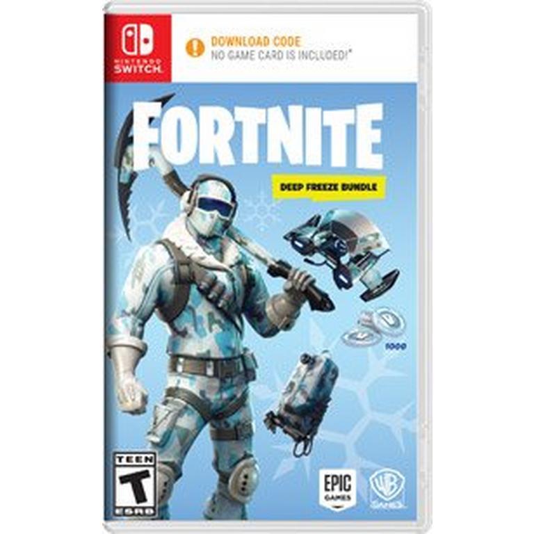 Fortnite Deep Freeze Bundle Nintendo Switch Gamestop