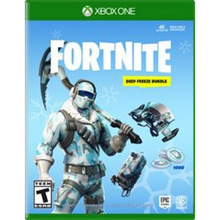 WB Games Fortnite: Deep Freeze Bundle Xbox One Available At GameStop Now!