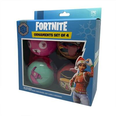 Fortnite Holiday Ornament 4 Pack