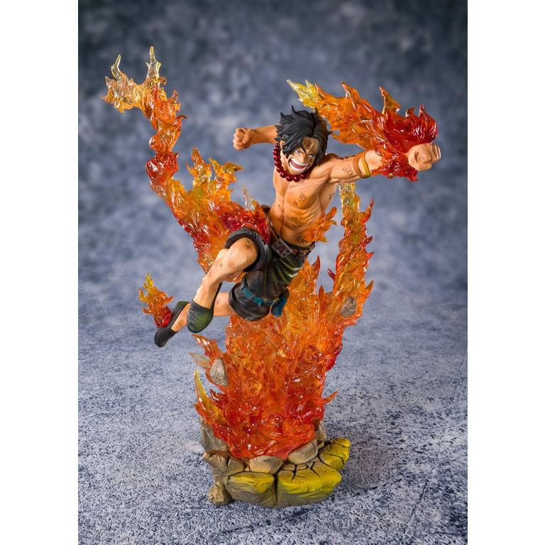 One Piece Portgas D. Ace Commander of the Whitebeard 2nd Division Figuarts ZERO Statue