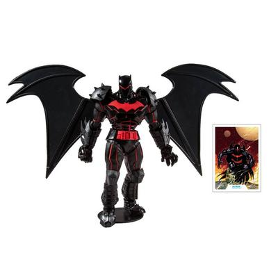 Batman and Robin Batman Hellbat Suit DC Multiverse Action Figure