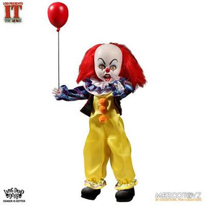 IT Pennywise 1990 Living Dead Doll