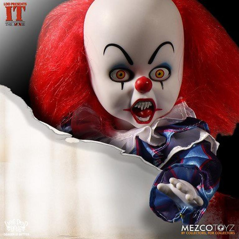 Living Dead Dolls IT Pennywise 1990 Doll