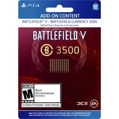 Battlefield V 3500 Battlefield Currency Digital Card