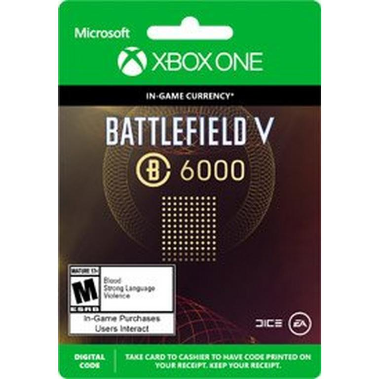 Battlefield V 6000 Battlefield Currency Digital Card