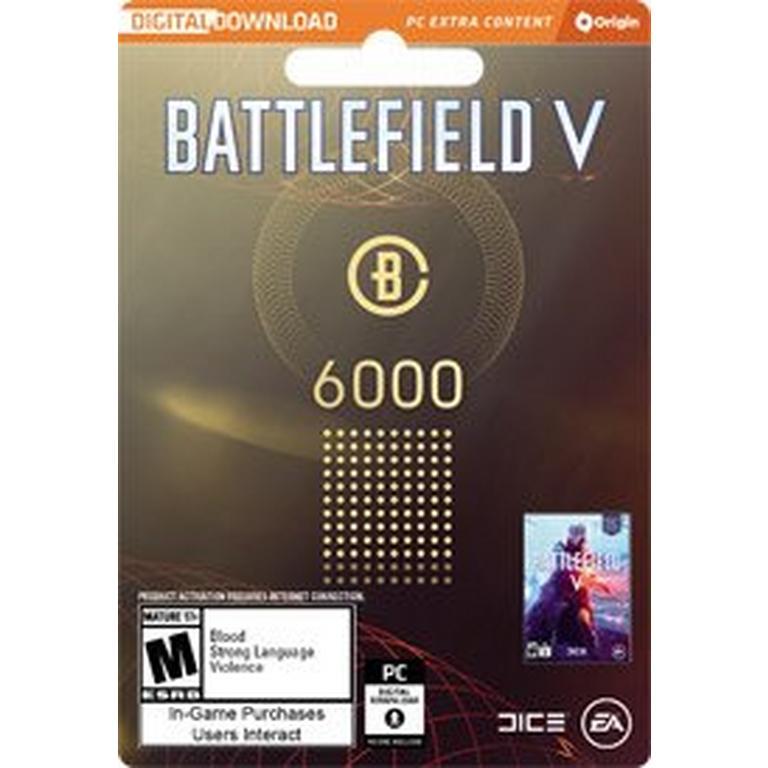 Battlefield V 6000 Battlefield Currency Digital Card