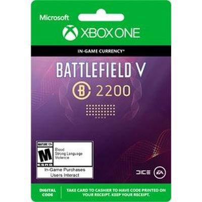 Battlefield V 2200 Battlefield Currency Digital Card
