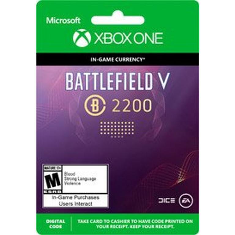 Battlefield V 2200 Battlefield Currency Digital Card