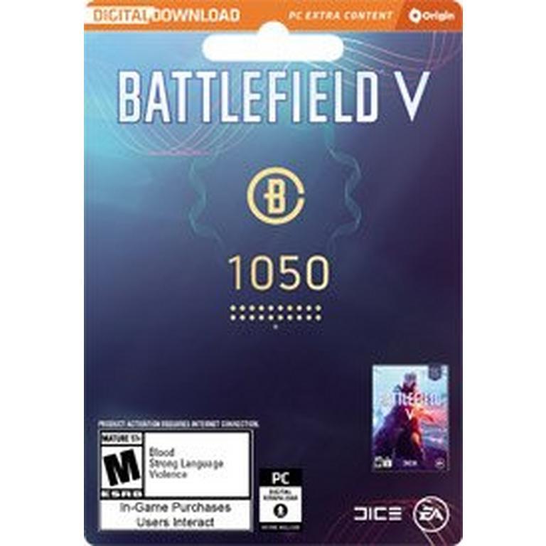 Battlefield V 1050 Battlefield Currency Digital Card