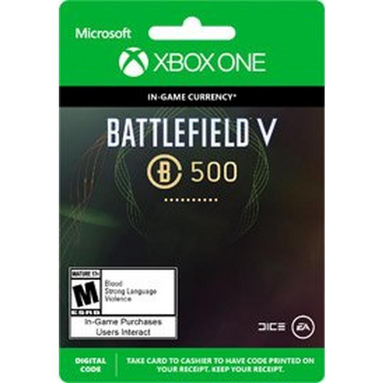 Battlefield V 500 Battlefield Currency Digital Card