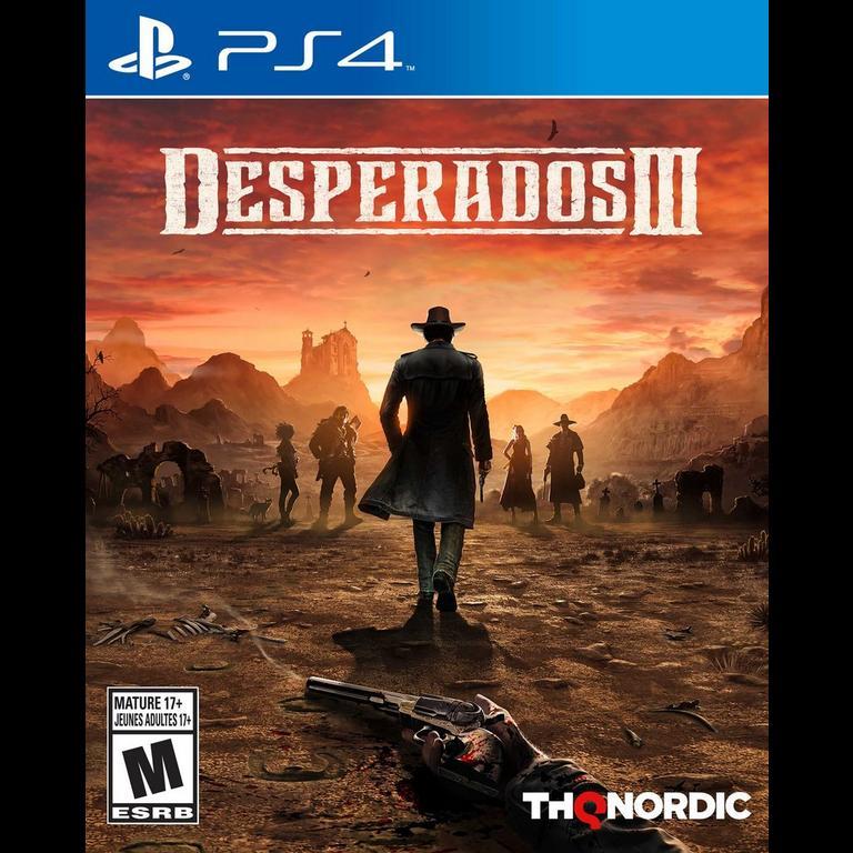 Desperados Iii Playstation 4 Gamestop
