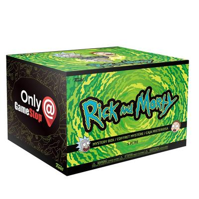 Funko Box: Rick and Morty Only at GameStop