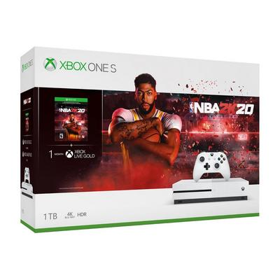 Xbox One S NBA 2K20 1TB Bundle