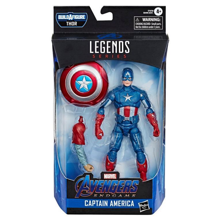 Marvel Legends Series Thor Captain America Action Figure