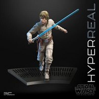 Star Wars Luke Skywalker The Black Series Hyperreal Statue
