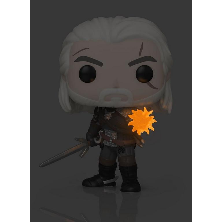 POP! Games: The Witcher III: Wild Hunt Geralt Glow in the Dark Only at GameStop