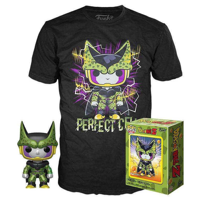 POP! and Tee: Dragon Ball Z Perfect Cell T-Shirt