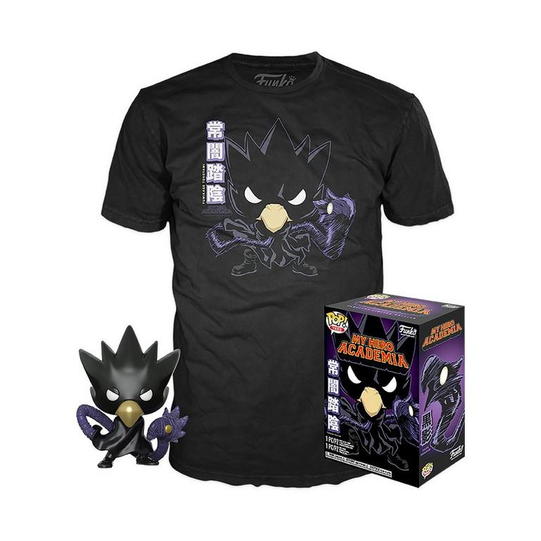 POP! and Tee: My Hero Academia Metalic Tokoyami Only at GameStop