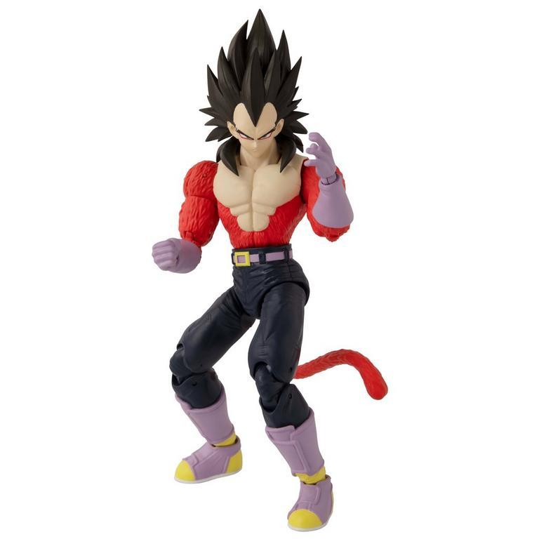 Dragon Ball Super Super Saiyan 4 Vegeta Dragon Stars Action Figure