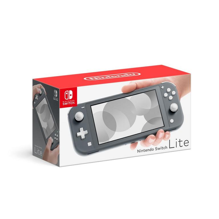 Nintendo Switch Lite Gray Available At GameStop Now!