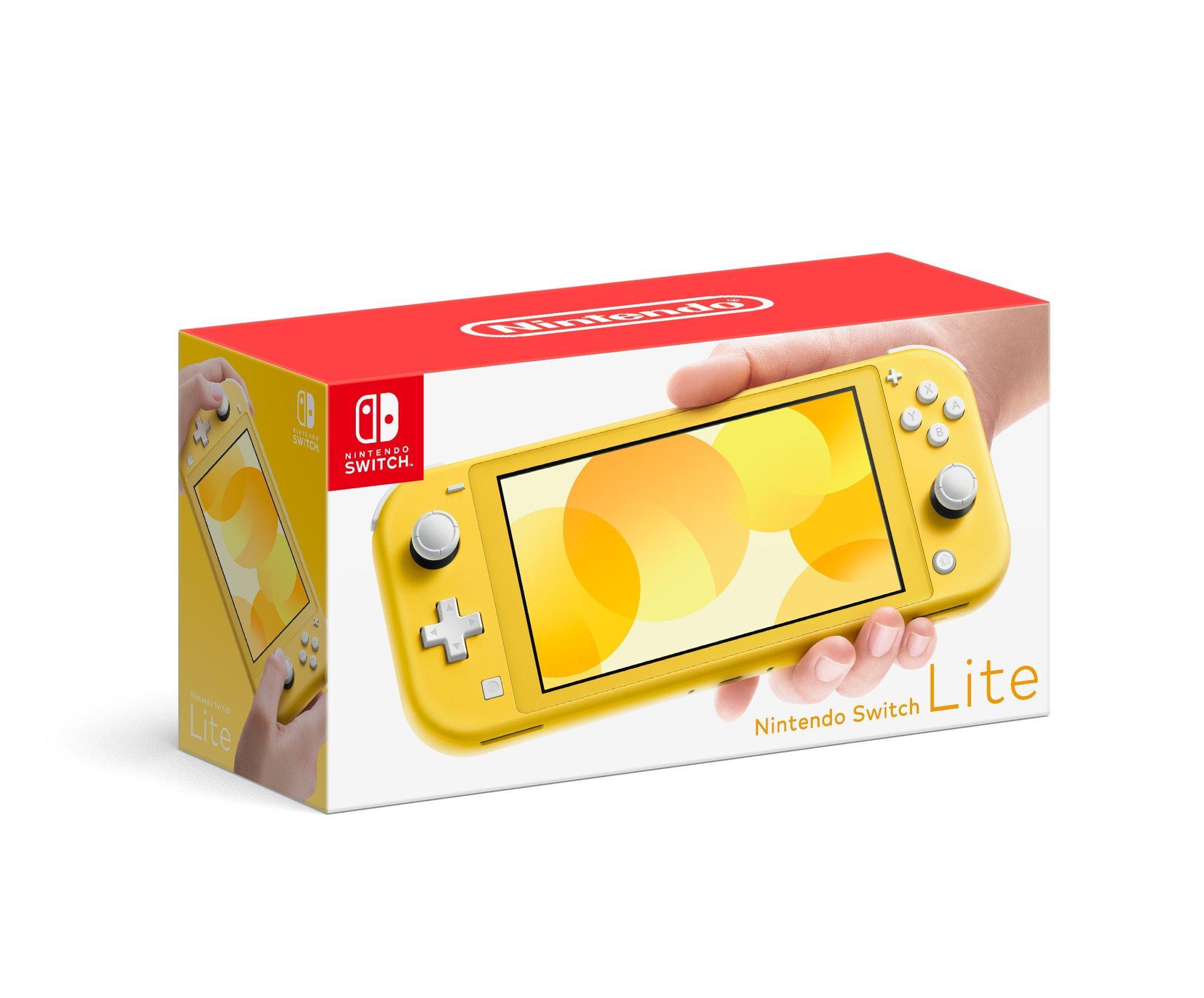 Nintendo Switch Lite Yellow Nintendo Switch Gamestop