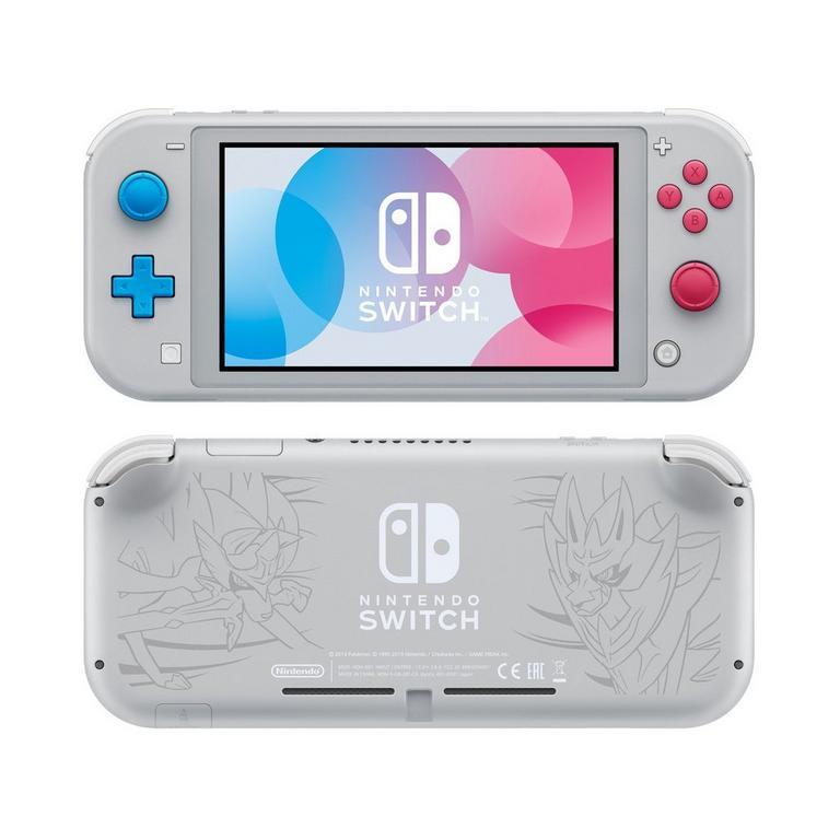 Nintendo Switch Lite Console Zacian and Zamazenta Edition