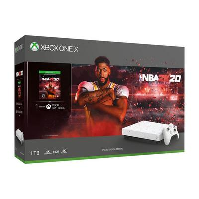 Xbox One X NBA 2K20 Special Edition 1TB Bundle Only at GameStop
