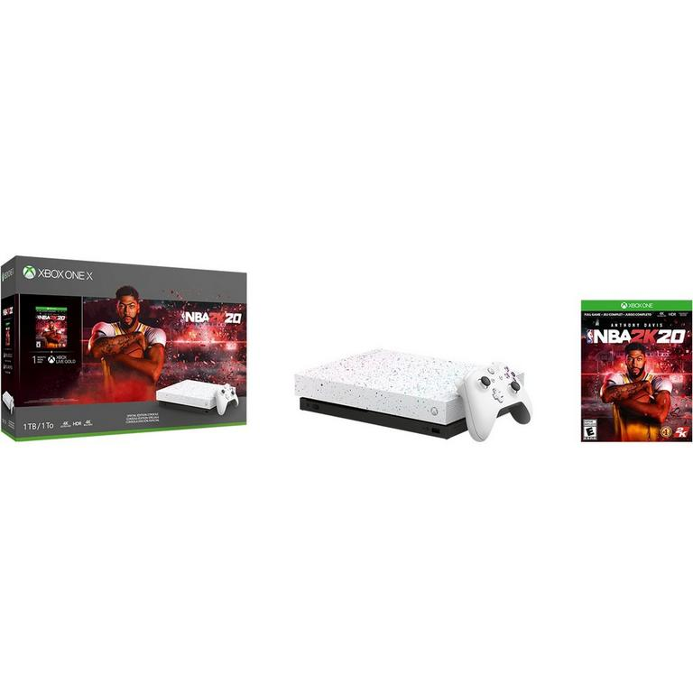 Xbox One X NBA 2K20 Special Edition Bundle 1TB