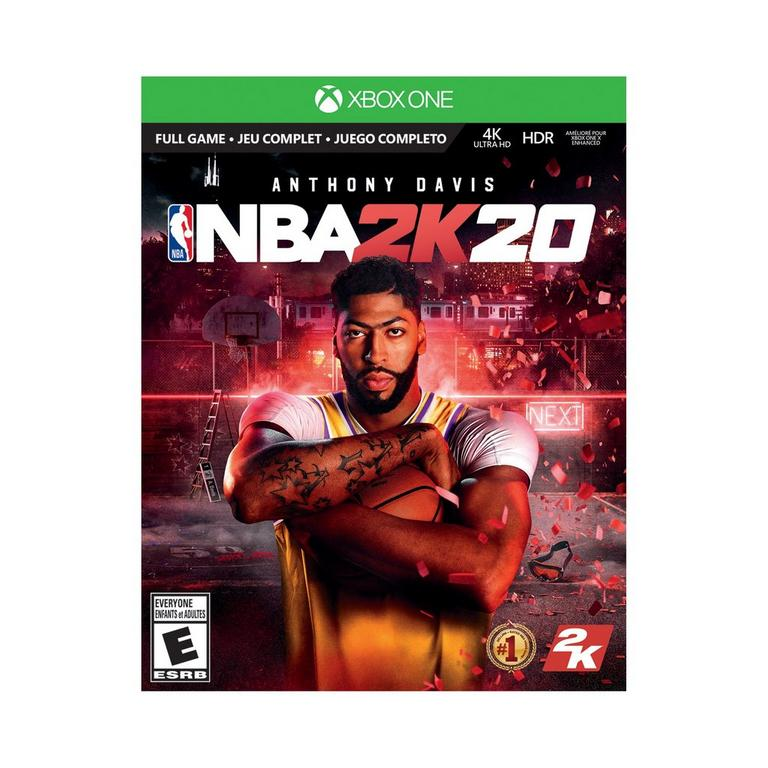 Xbox One X NBA 2K20 Special Edition Bundle 1TB Only at GameStop