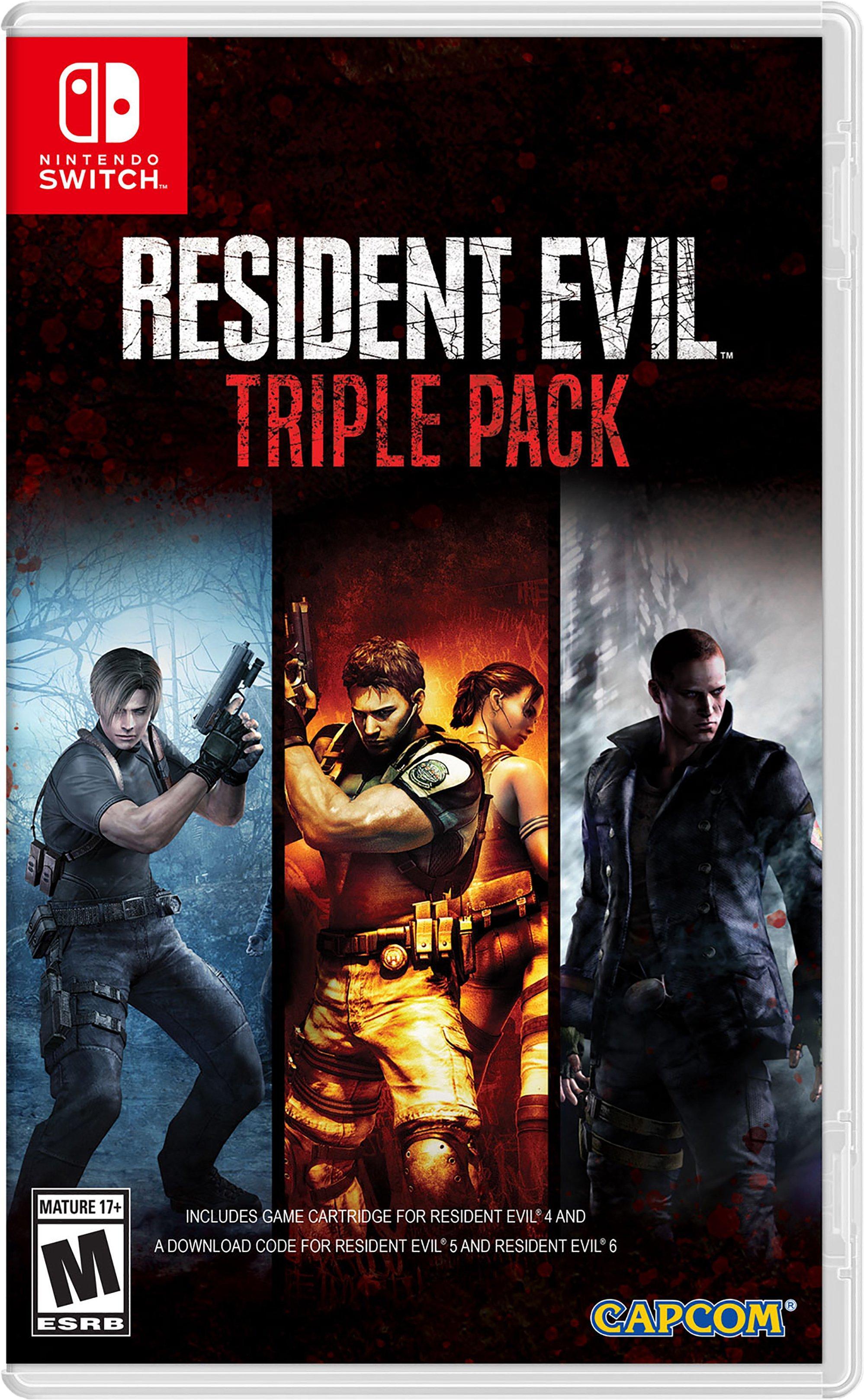 Resident Evil Triple Pack Nintendo Switch Gamestop