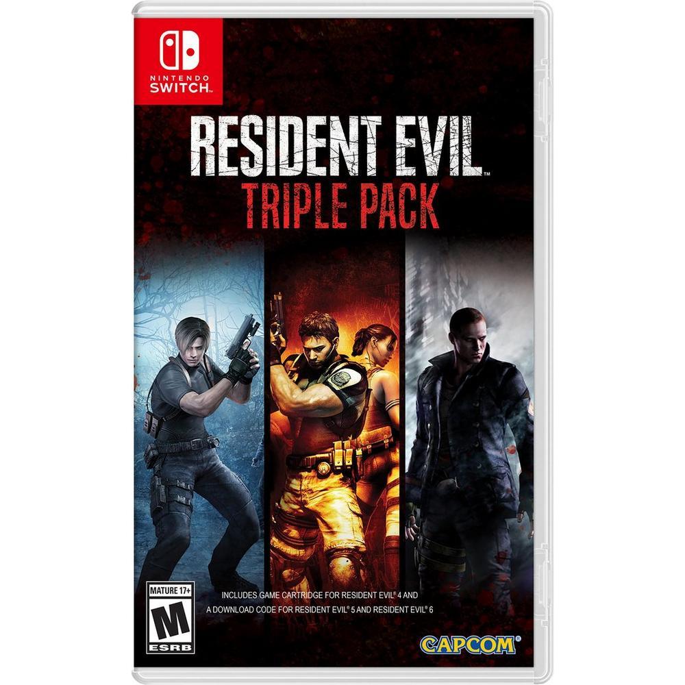 Resident Evil Triple Pack | Nintendo Switch | GameStop
