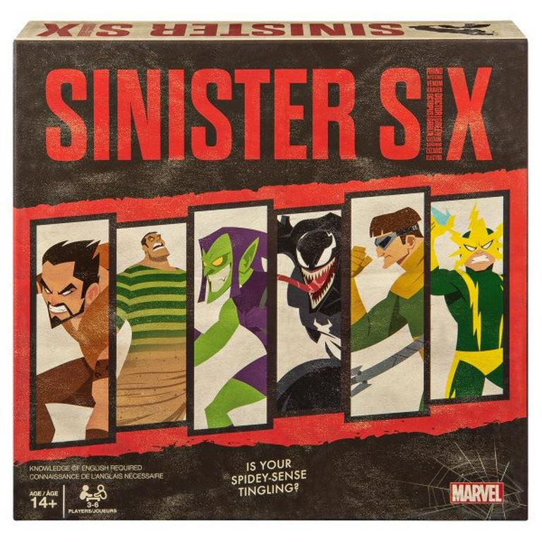 Marvel Sinister Six Board Game