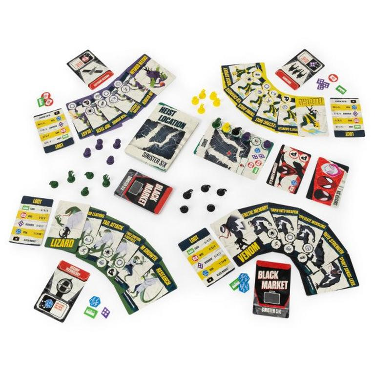 Sinister Six Board Game First at GameStop
