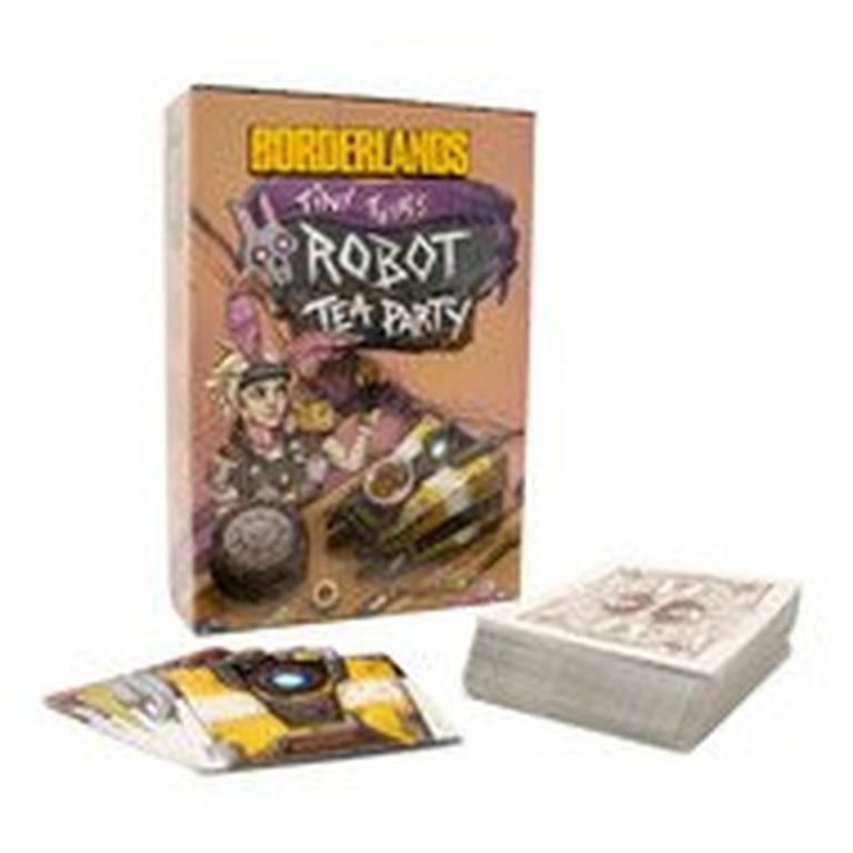 Borderlands Tiny Tina's Robot Tea Party Card Game