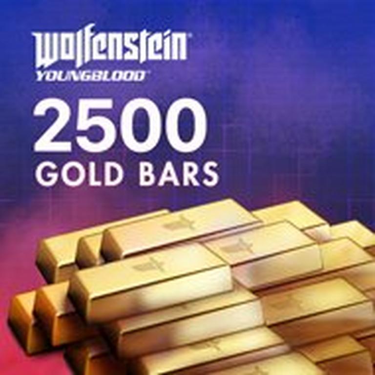Wolfenstein: Youngblood 2,500 Gold Bars