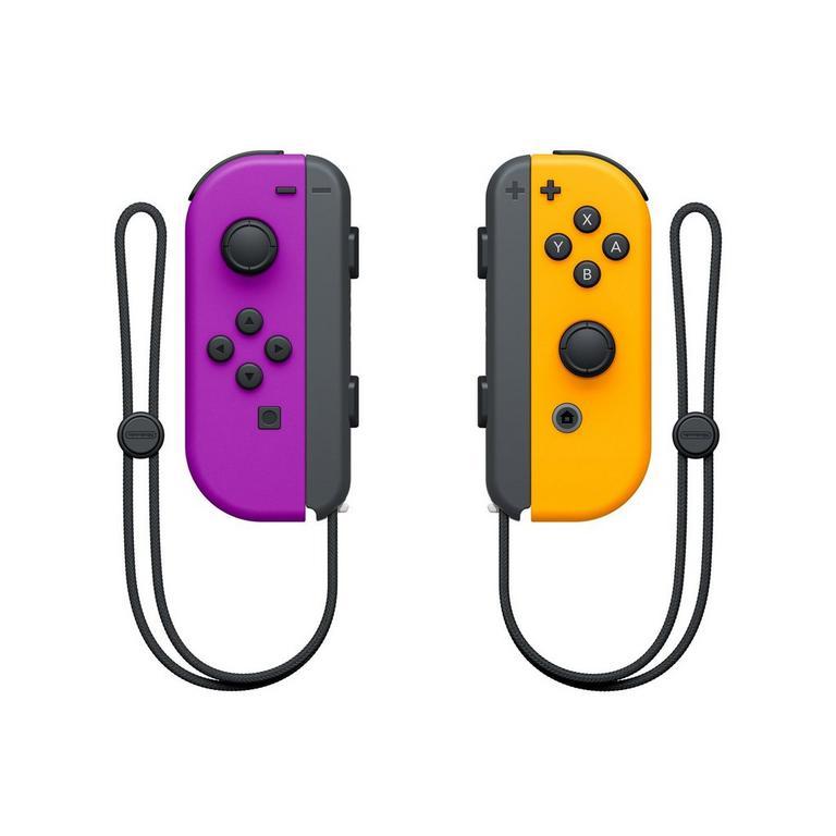 Nintendo Switch Joy-Con (L)/(R) Neon Purple / Orange
