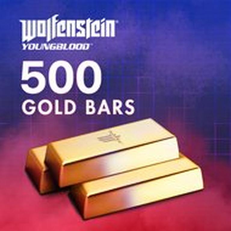 Wolfenstein: Youngblood 500 Gold Bars