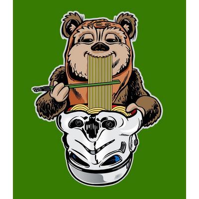 Star Wars Endorian Ramen T-Shirt