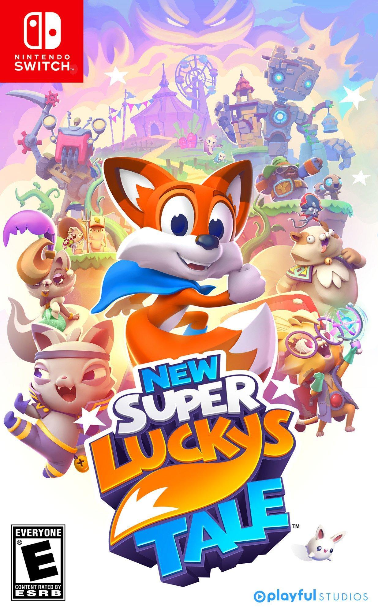 Resultado de imagem para New Super Lucky's Tale