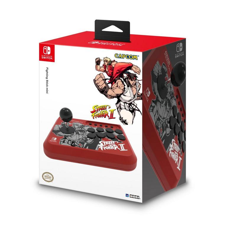 Nintendo Switch Street Fighter Edition Red Fighting Stick Mini