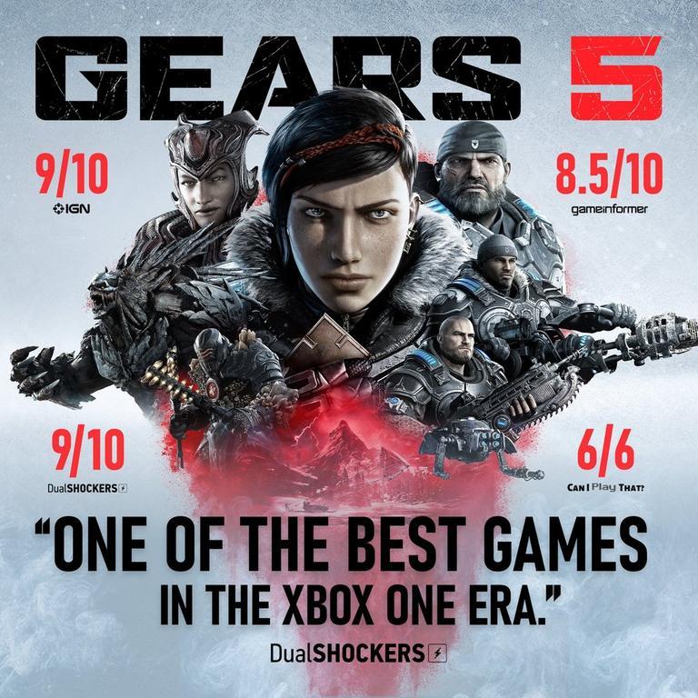 Xbox One S Gears 5 Bundle 1TB