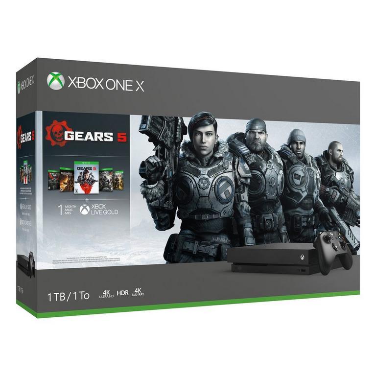 Xbox One X Gears 5 Bundle 1TB
