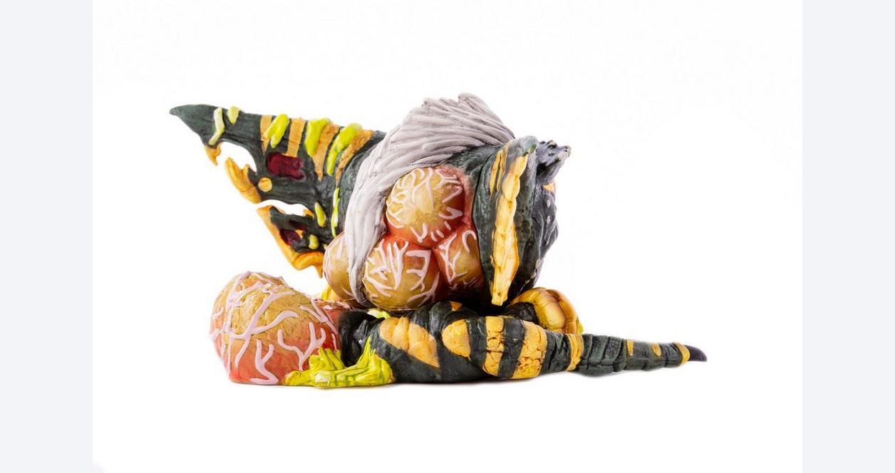 Gremlins Stripe Melting Mondoid Figure