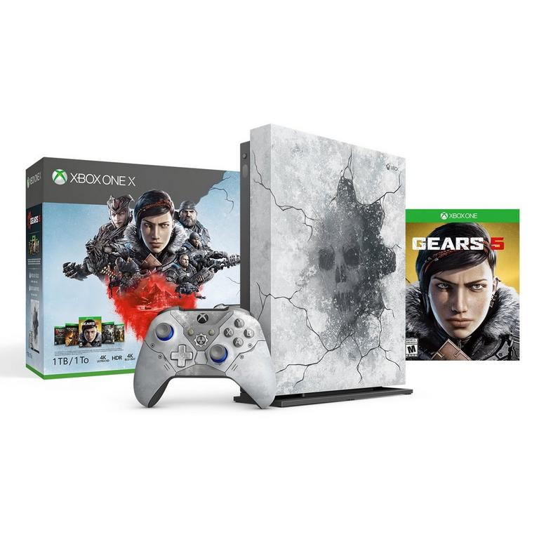 Xbox One X 1TB Console Gears 5 Limited Edition Bundle