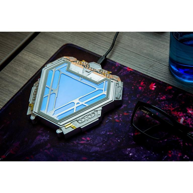 Iron Man Arc Reactor Wireless Charger with AC Adapter Only at GameStop