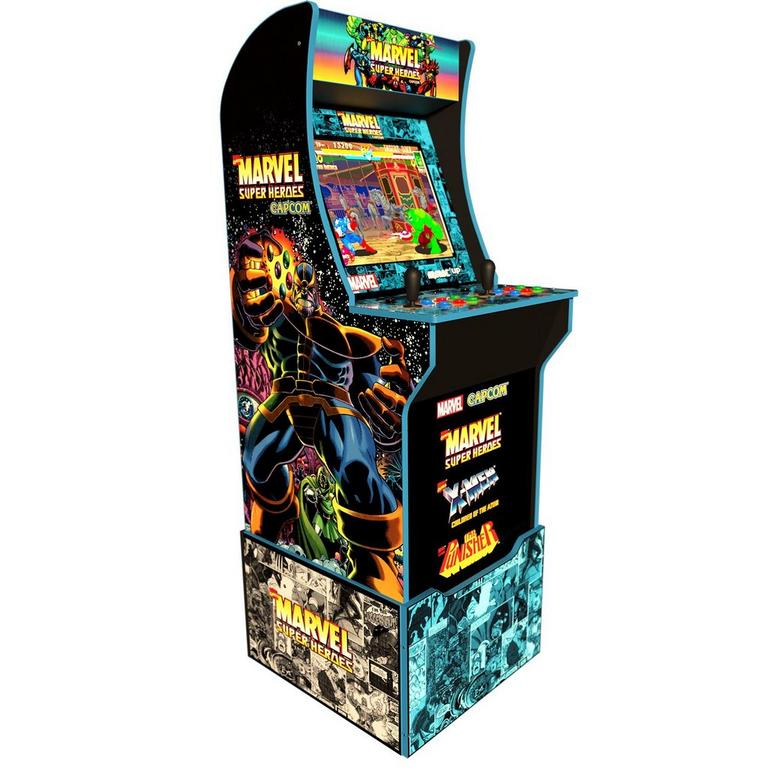 Marvel Super Heroes Arcade Cabinet with Riser