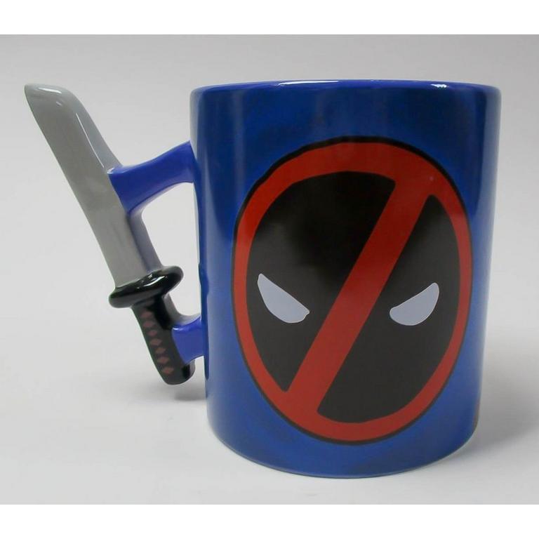 Deadpool Thumbs Up Katana Handle Mug