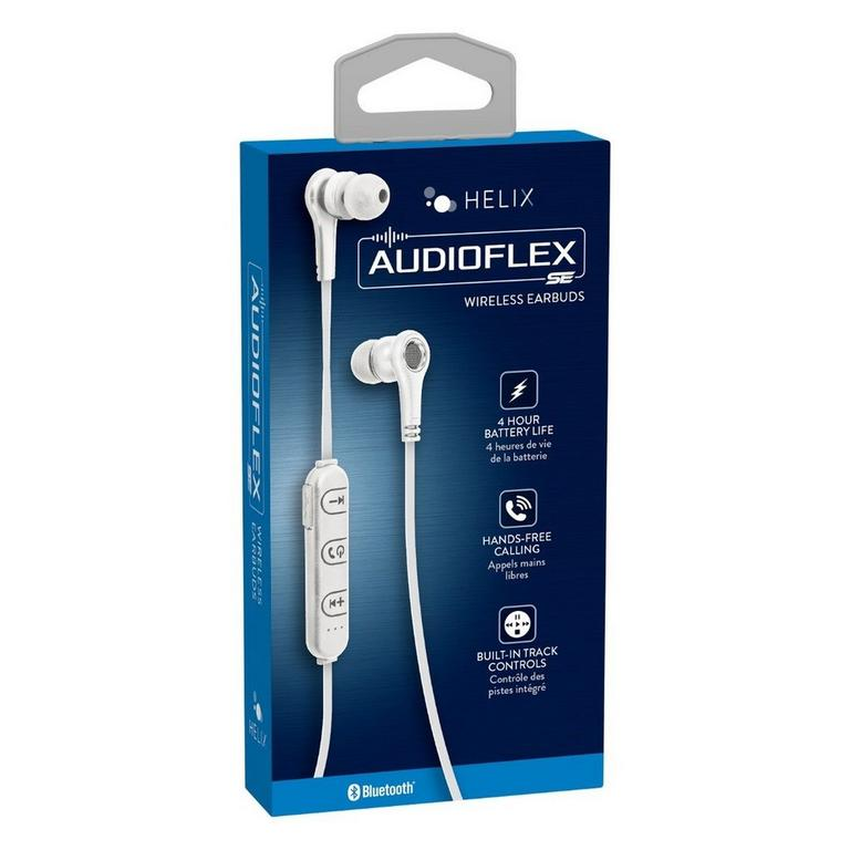 Audioflex SE Bluetooth Earbuds White